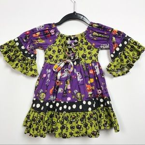 Jelly the Pug Halloween Fall Boutique Dress Baby